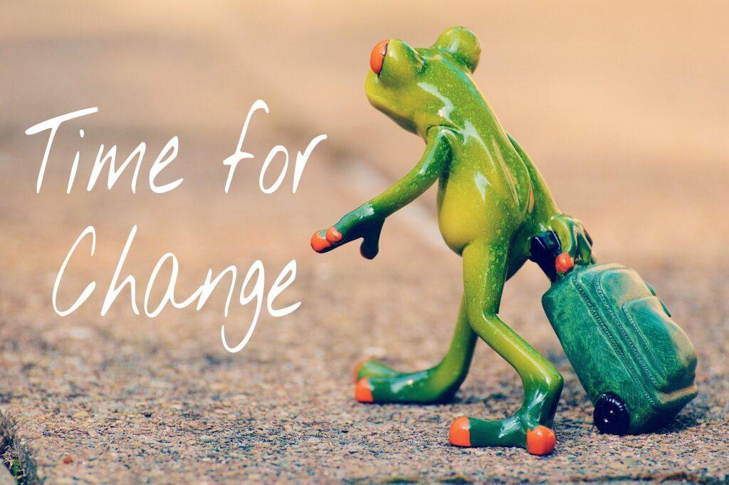 'Ωρα για αλλαγή?